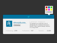 Twitter Profile Card