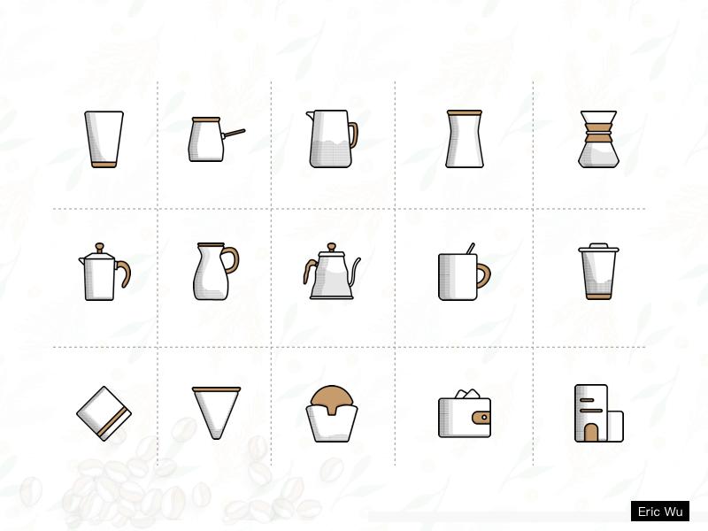 Luckin Coffee Redesign appdesign icon illustrator sketch concept