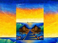 Original landscape illustration2