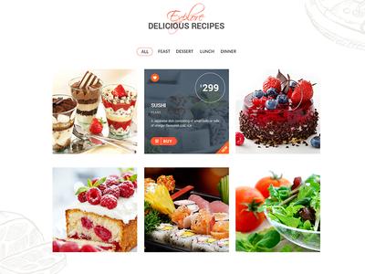 Explore and Order Food ecommerce galery joomla wordpress themexpert