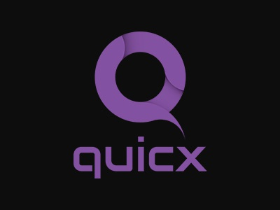 Quicx logo branding