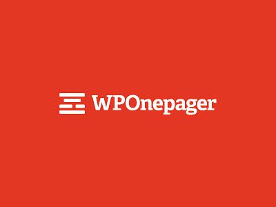 WPOnepager template builder onepage wp wordpress