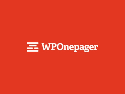 WPOnepager template builder onepage wp wordpress