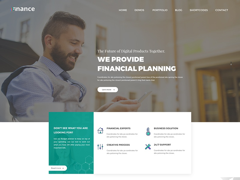 Finance - Consulting, Business, Finance Free PSD Template layout web website free finance psd template business