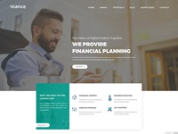 Finance - Consulting, Business, Finance Free PSD Template
