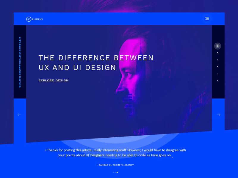 Agency Website template agency ux ui