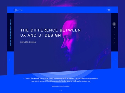 Agency Website template agency ux ui