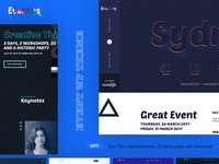 High Performance Event WordPress Theme agenda ajax event jquery modern speakers themexpert wordpress theme responsive