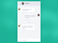 Direct messaging - DailyUI #13