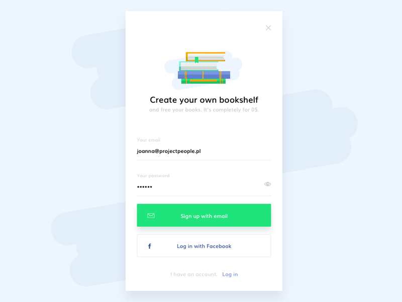 Dailyui  1   sign up