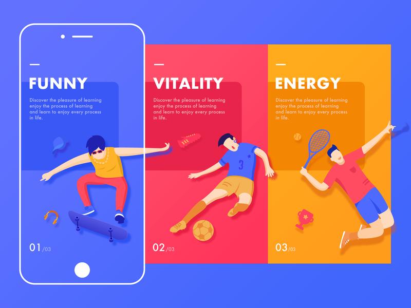 Gogogo app illustration