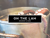 On The Lam Logo