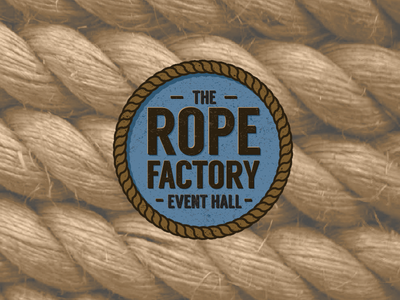 The Rope Factory design events branding rope logo