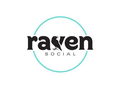 Raven Social Logo