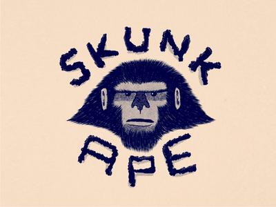 Skunkin' around.