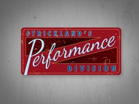 Strickland's Performance Division
