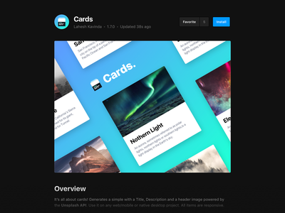 Cards - Framer X component animation ui design interaction framer react minimal web cards mobile app ux ui