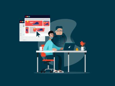 Digital Advertising - concentration pressure kim jong un design motion graphics illustration advertising