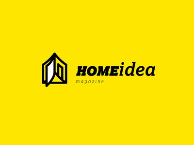 Logo Done For HOMEidea Magazine Where You Can Discover Newest Trends In Interior Design And Architecture Find Inspiration Your Home Projects