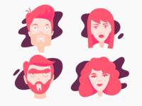 Characters Set I