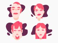 Characters Set IV