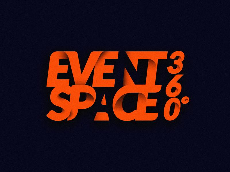 Eventspace360 Logo branding vector type ui brand identity lettering illustration design logotype typography graphic logo