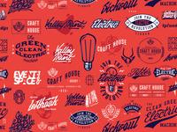Logotype compilation