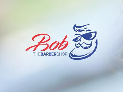 Bob The Barber barber shop daily logo challenge illustration logo design brand identity vector art