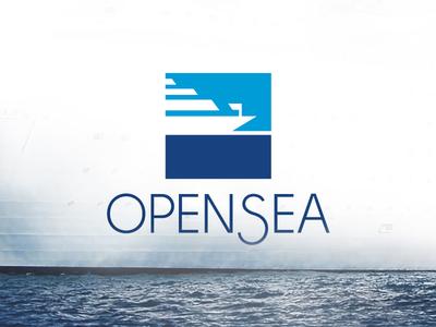 Opensea sea minimal boat daily logo challenge logo design brand identity vector art