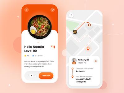 Food Delivery App design app icon ui web design figma figma design ui design uiux healthy food food delivery food app