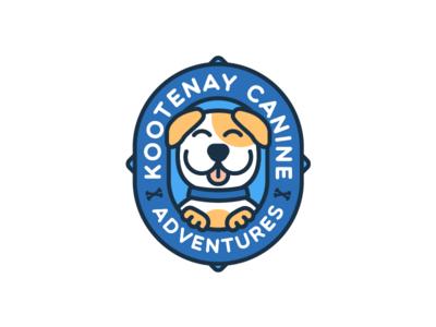 Dog Walking Company Logo