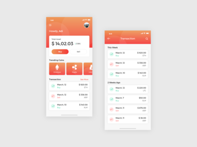 Crypto Currency App