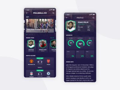 Football App Design
