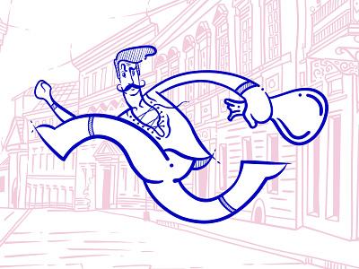Rogue caracters man horse ship law city ipadpro sketch illustration illustration art graphic art art procreate design illustraion outlander rogue