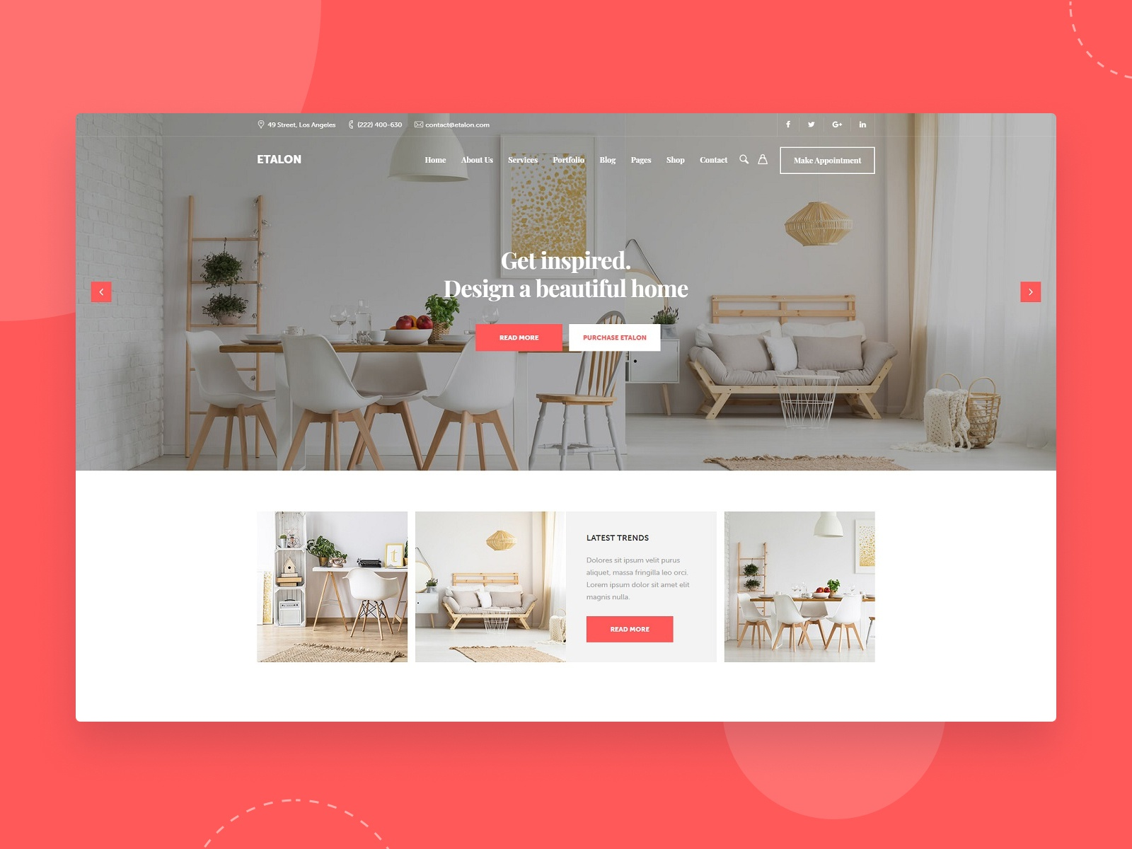Home Decor By Keydesign Themes On Dribbble