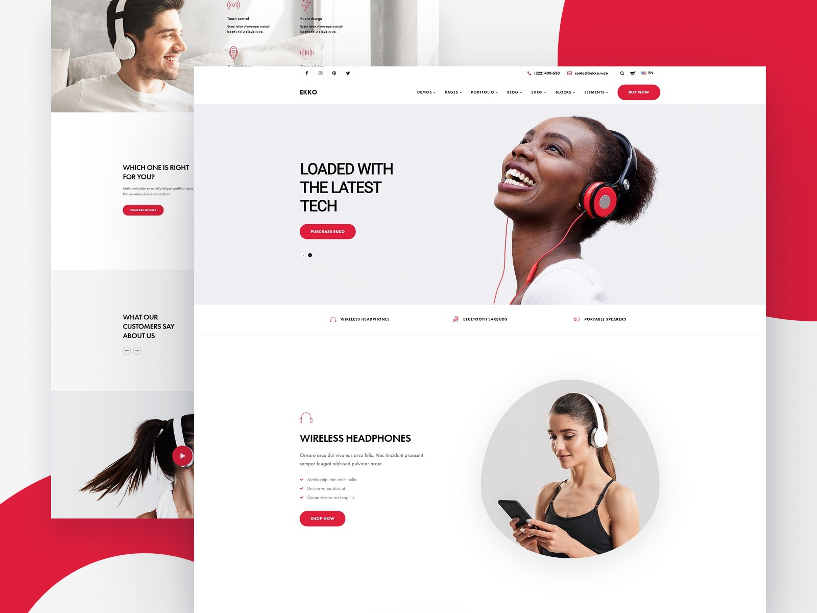 Single Product Website Template from cdn.dribbble.com