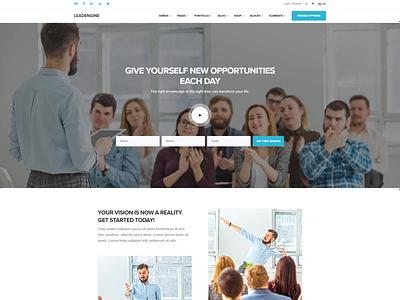 Coaching wordpress theme wordpress website design website webdesign startup multipurpose life coaching website life coaching life coach leadengine landing page coaching website coaching