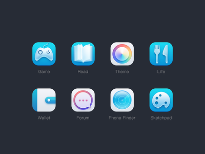 night sky 04 ui icon
