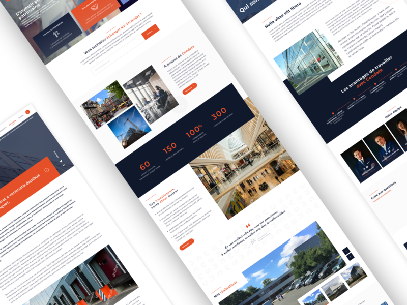 Condate design business webdesign corporate ux ui