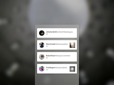 notifications - dailyUi 049 daily ui challenge notifications photography dailyui049 dailyui