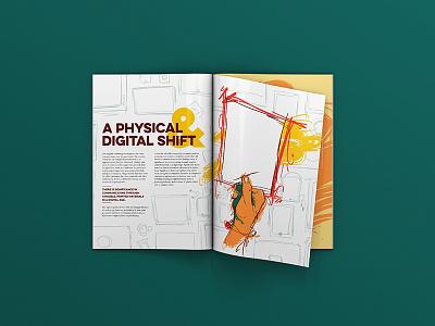 Print's Evolving Role in the Modern Enterprise typography graphic design design layout illustration