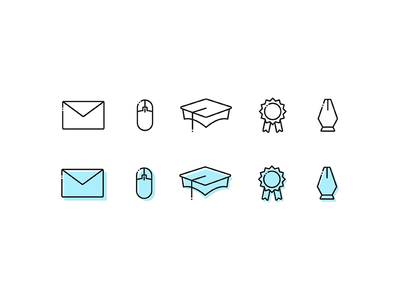 Simple Resume Icons