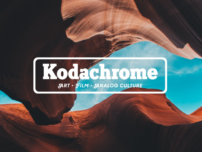 Kodachrome Magazine Web Design System kodachrome kodak strategy visual design ux ui magazine article blog graphic logo web design