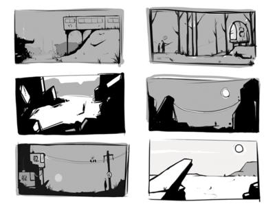 Landscape Sketches