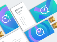 Quick Booking - business card design