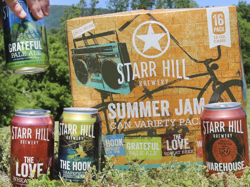Summer Jam craft beer packaging design beer can ipa virginia beer