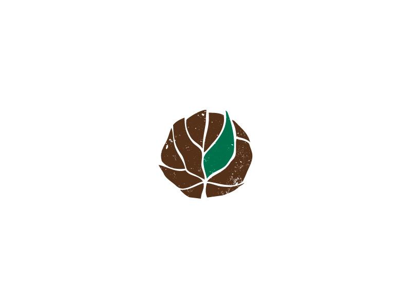 logo mark for a craftsman & builder organic minimal wood logo branding