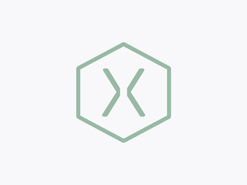 Hexagon Energy | secondary mark solar energy renewable energy icon simple modern logo identity branding