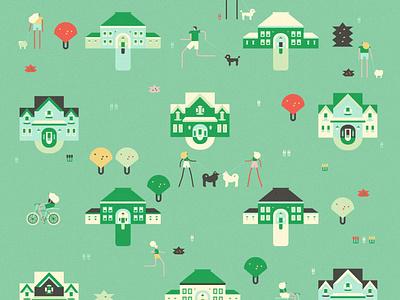 Neighborhood 2 design neighborhood character illustration