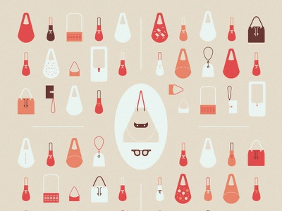 Bags design illustration bags